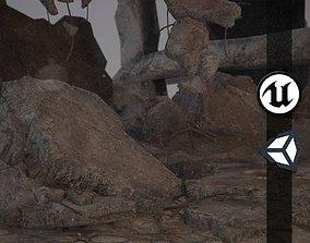 Rubble and Debris - Collection 1 3D asset