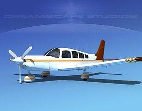 3D model Piper Cherokee Six 300 V10