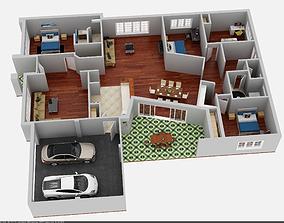 textures 3d floor plan
