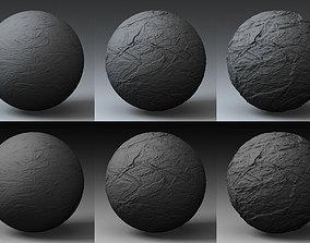 Displacement Landscape Shader 066 3D model