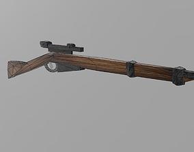 3D printable model Ross Sniper Rifle