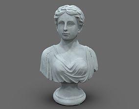 Roman Citizen Woman Bust 3D