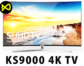 The New Samsung KS9000 SUHD TV 4K Curved Series 3D model
