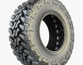 3D model Off Road Tyre