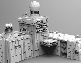 Imperial Military Base - Star Wars 3D