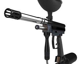 Spyder Paintball Gun 3D asset