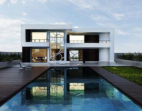 Modern House 3D free