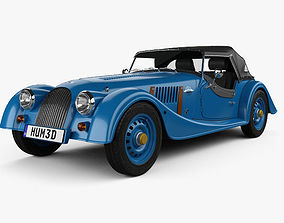 3D model Morgan 4-4 80th Anniversary 2016