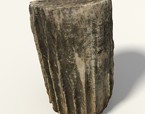 Baseless Greek Column 3D model