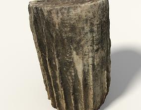 Baseless Greek Column 3D model
