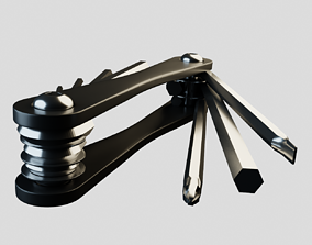 3D asset Hex key set