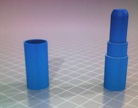 3D print model lip stick