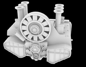 3D printable model PORSHE 911 MOTOR STL