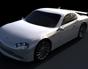 3D car Racing Car
