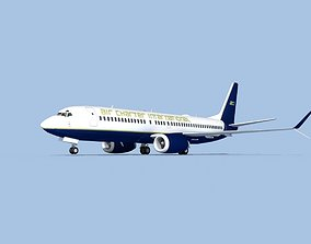Boeing 737-800 Max Air Charter Intl 3D rigged