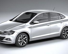 3D Volkswagen Polo Virtus 2018-2020
