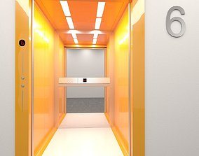 3D asset Elevator Progress mod2