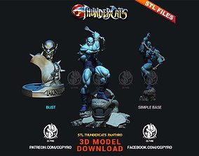 Thundercats Panthro STL for 3D printing Fanart Term
