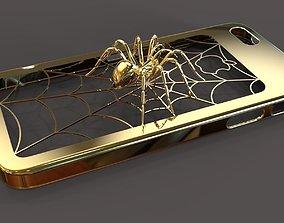 3D print model iPhone 5 Spider case