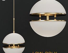 3D asset HANGING LAMP SPIRIDON SINGLE