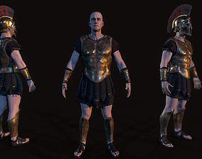 3D asset Hoplite
