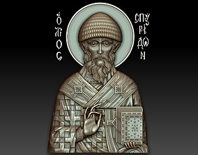 3D Saint Spyridon of Trimyphus