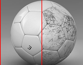 3D model Soccerball white
