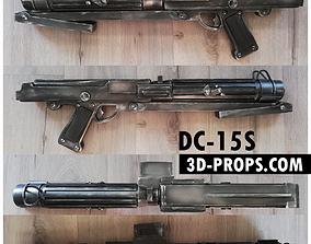 3D printable model DC-15S CLONE blaster rifle Electronics