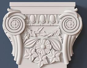 decor Pilaster Capital 3D model