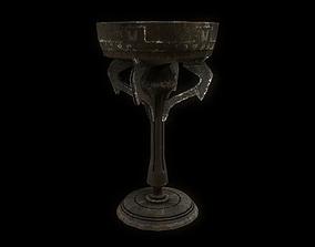 3D asset Old Goblet