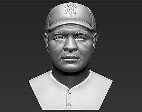 Babe Ruth bust 3D printing ready stl obj formats