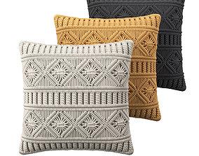 Cushions sleep 3D model