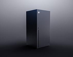 Xbox Series X 3D model game-ready