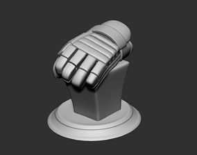 Ice Hockey Player Gloves Bust Collectible Figure 3D