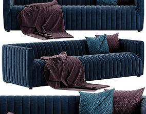3D Crate and Barrel Cosima sofa