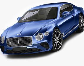 3D model Bentley Continental GT 2018
