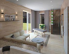 Royal spa room 3D