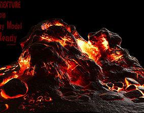 plant 3D model Lava Rock