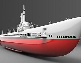 Watercraft 4 - Submarine historic 3D