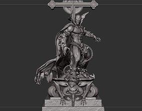 Spawn on top of church Fan Art 3D print model