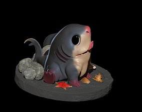 Baby shark Print 3d animal