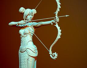 Archer 3D print model