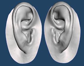 3D print model Natural human ear anatomy 07