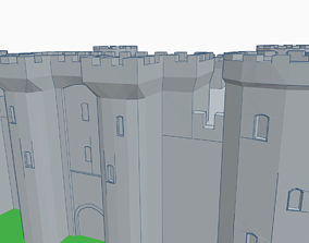 castle 3D printable model knights