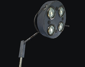 Floor Operating Lamp 3D model