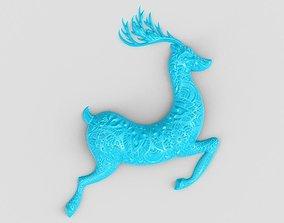3D print model Gazelle Wall Decor