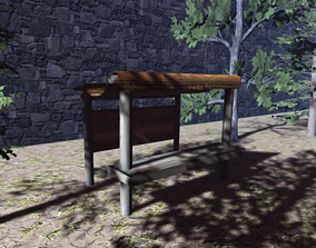 Old Stall 3D model