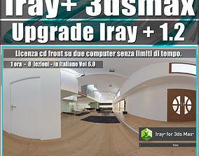 Iray piu 1 2 in 3dsmax 2017 Upgrade Vol 6 Cd Front