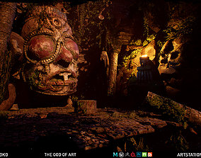 Sharurs The God of Art Unreal Engine 3D asset