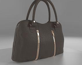 Leather Women s Handbag 3D asset